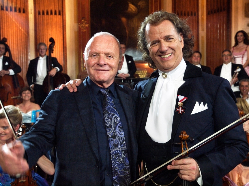 Anthony Hopkins and Andre Rieu