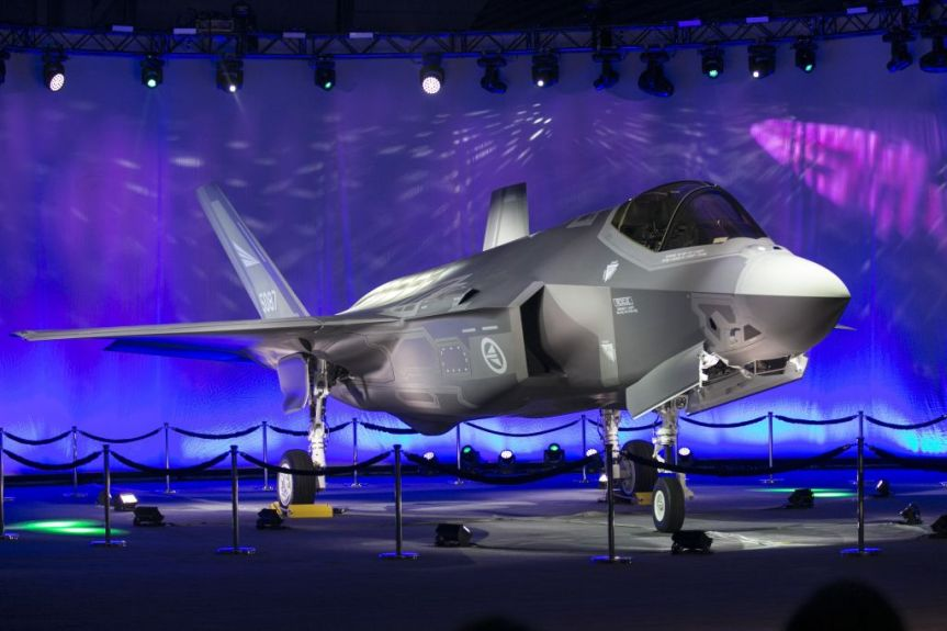 US-NORWAY-LOCKHEED MARTIN F-35A LIGHTNING II JET FIGHTER